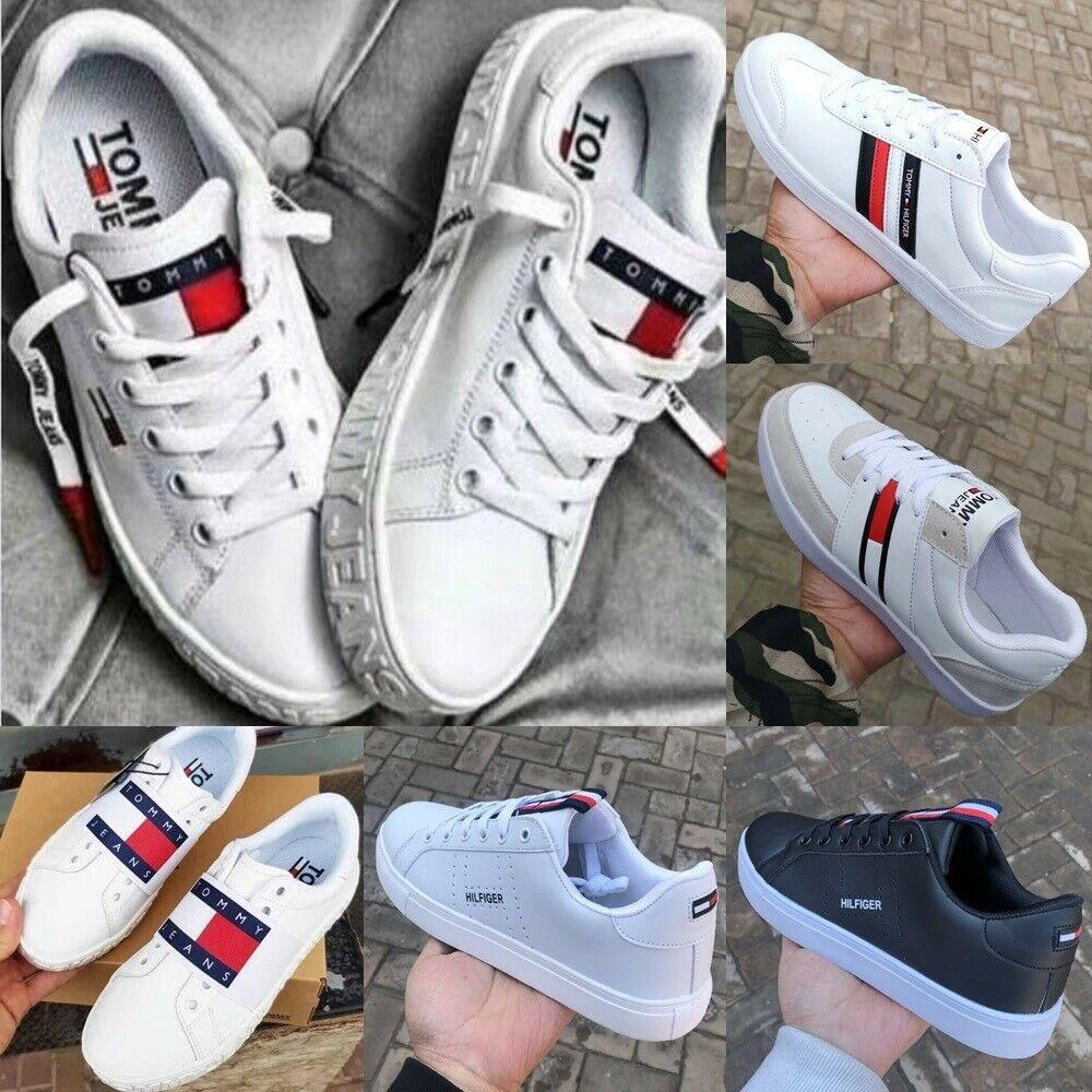 Tommy Hilfiger Herren Damen Sneaker Schuhe Turnschuhe Grosse 36 44 Weiss Schwarz Schuh Ideas Of Schuh Sc Tommy Hilfiger Shoes Sneakers Tommy Hilfiger Jeans