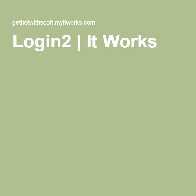 Login2 | It Works