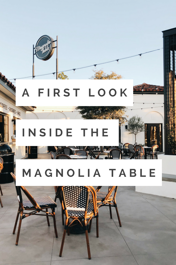 A First Look Inside The Magnolia Table Travel Waco Pinterest - Magnolia table restaurant