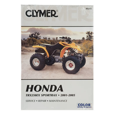 Advertisement Ebay Clymer Repair Manuals M215 Honda Trx 250ex 2001 2005 Clymer Repair Manuals