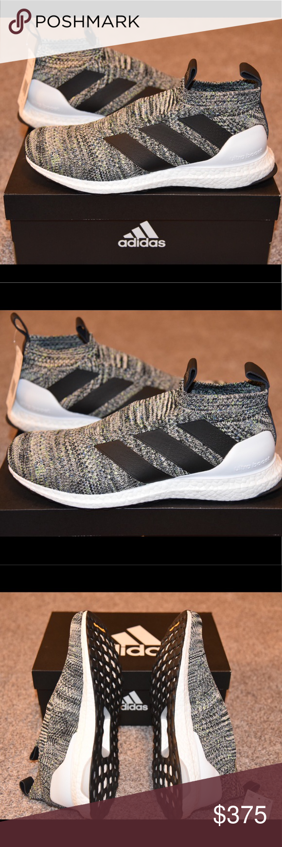 dbab7bd9a59 ADIDAS 16+ PURECONTROL MULTICOLOR ULTRABOOST SHOES BRAND NEW DEADSTOCK A 16+  OREO PURECONTROL ULTRABOOST SHOES. NEVER WORN COMES WITH BOX.