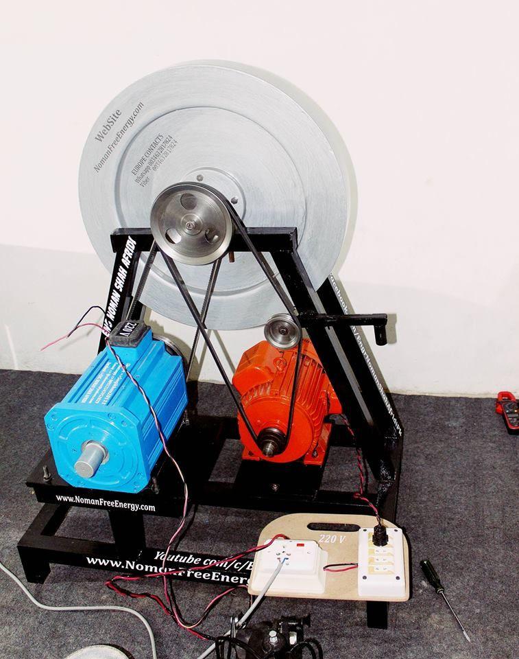 Free Energy Generator 100 Self Runing By Eng Noman Shah