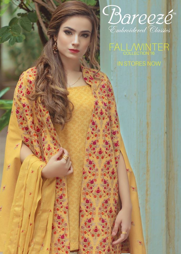 ccb0879ff76c Bareeze Fall Winter Fancy Wear Collection 2017