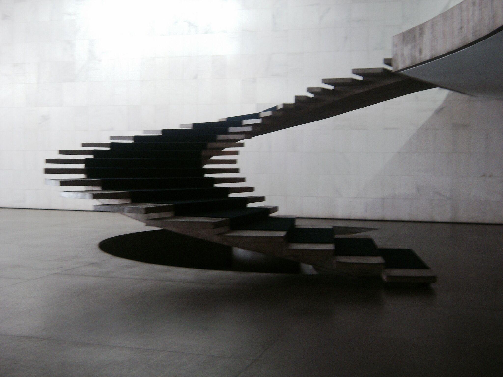 Escada do palácio Itamaraty - Brasília - Foto: Arquiteta Cláudia F. Ferreira