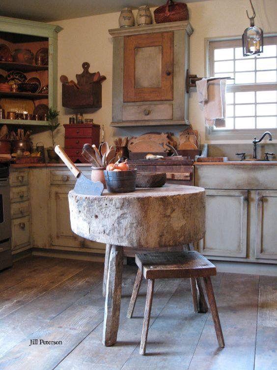 Una casa shabby chic stili di arredamento pinterest for Tronchi per arredamento