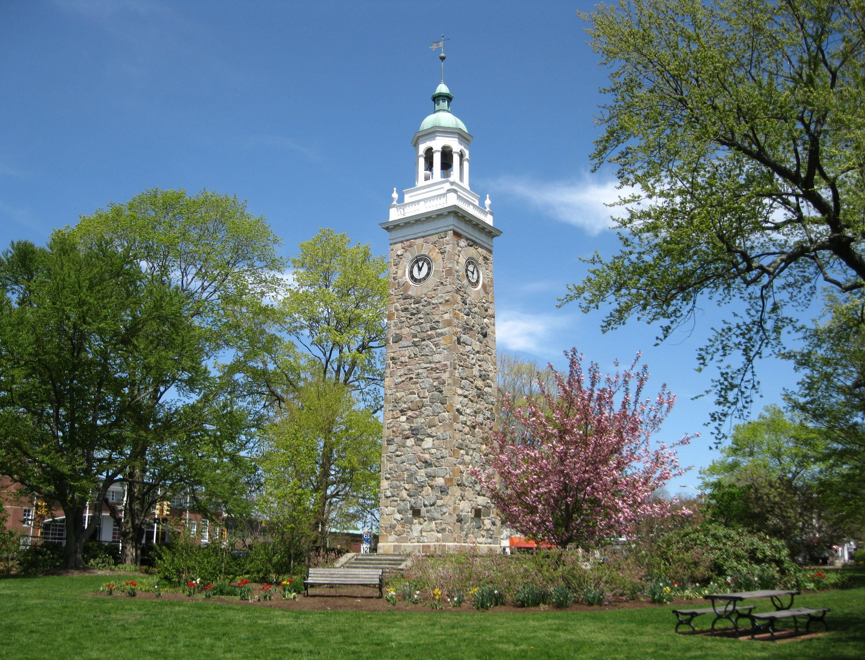Isaac Sprague Memorial Clock Tower 1928