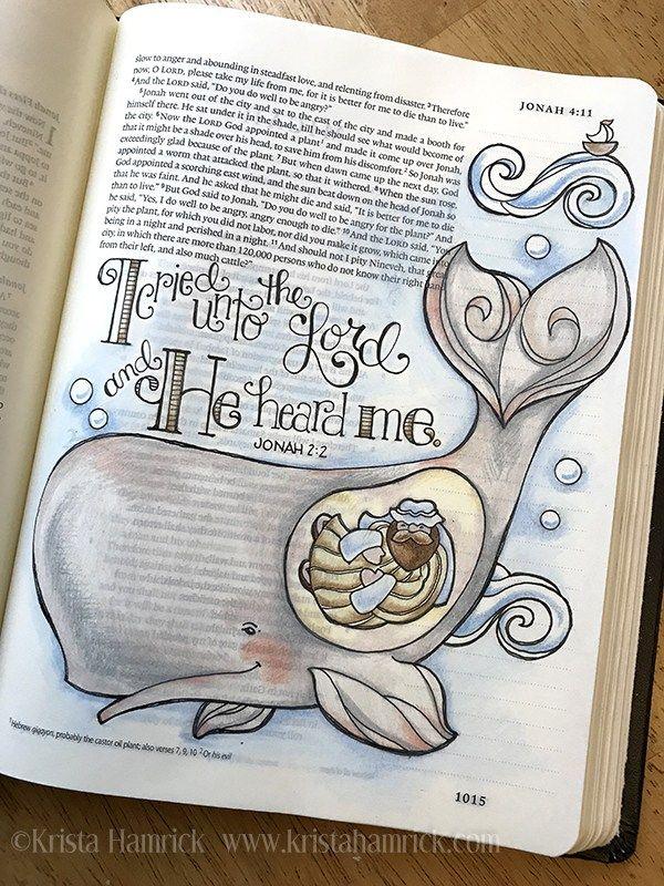 Bible Journaling | Krista Hamrick Illustration | Bible Art ...