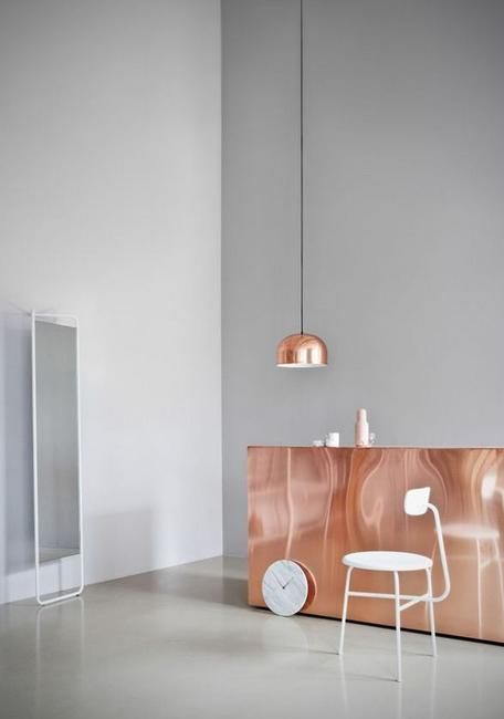30 Modern Interior Design Ideas, 10 Great Tips To Use Copper Colors In Home  Decorating