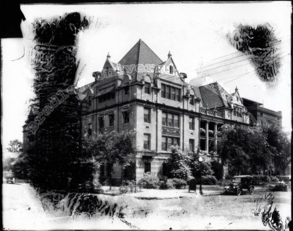 the old proctor hospital building in peoria illinois ca 1915 rh pinterest com