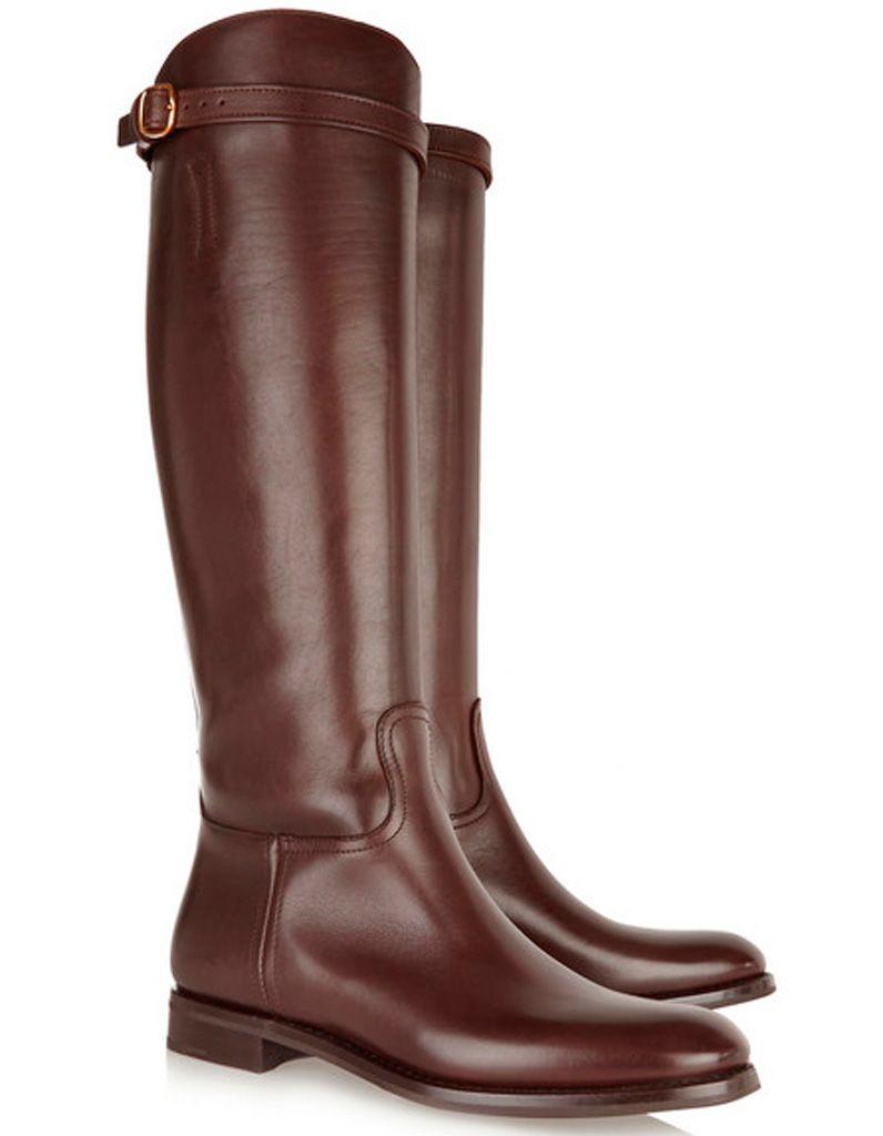 4cbacb20317ba Bottes cavalières marron Church s - Nos 20 plus belles paires de bottes  cavalières - Elle
