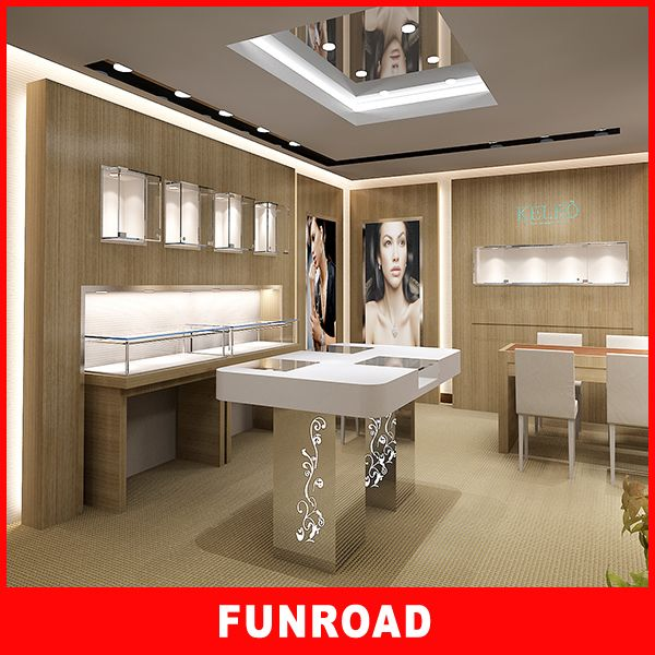 Superior Quality Jewelry Shop Interior DesignJewellery Counter Design