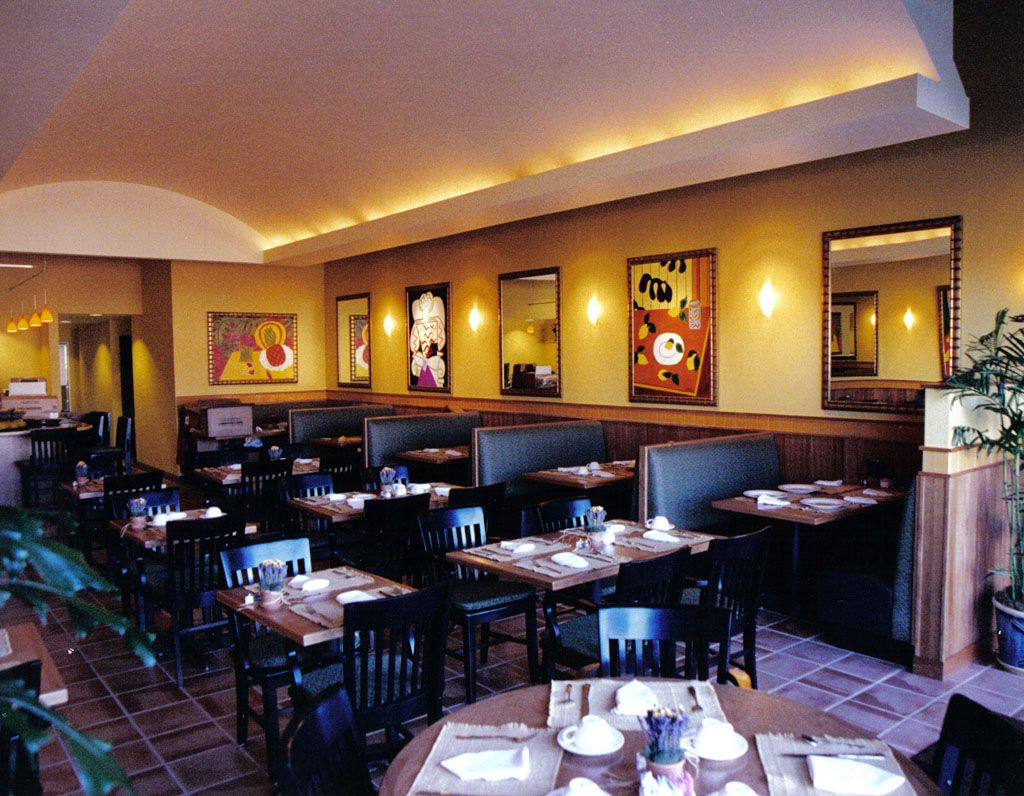 Casual Restaurant Dining Room Restaurant Layout Casual