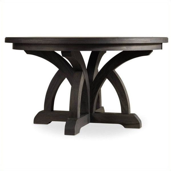 Hooker Furniture Corsica 54 Round Dining Table with 18 Leaf