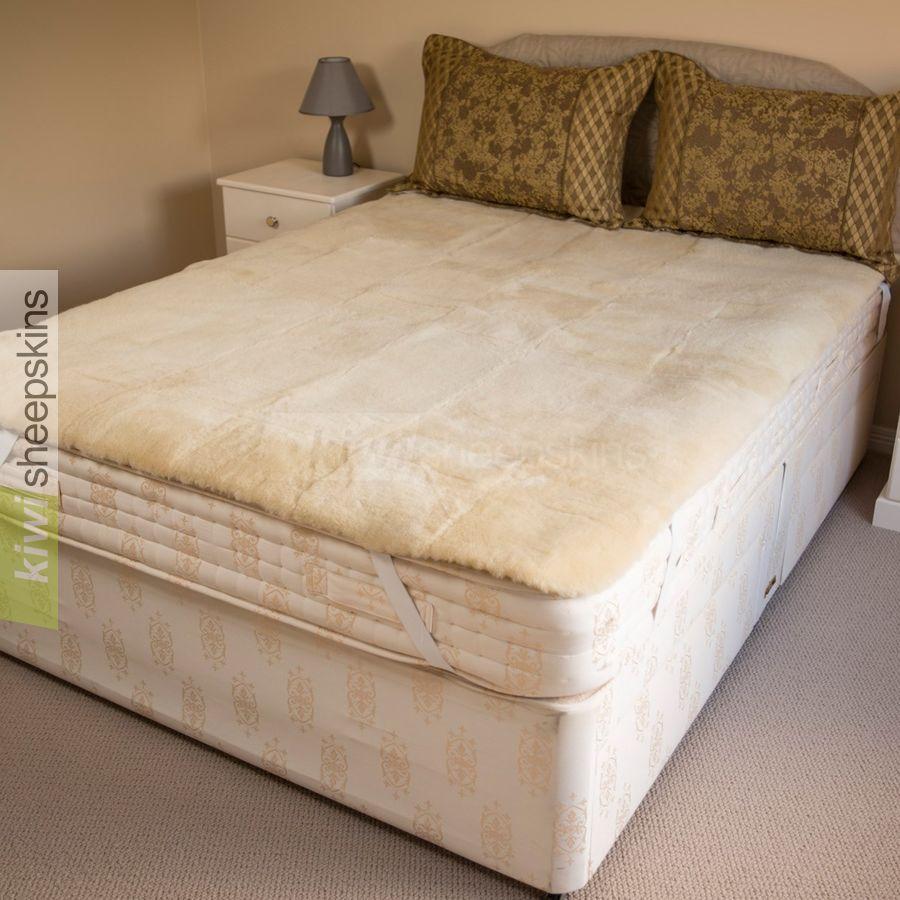 Genuine Medical Sheepskin Mattress Pad Bed Underlay Mattress Mattress Topper Bed Pads