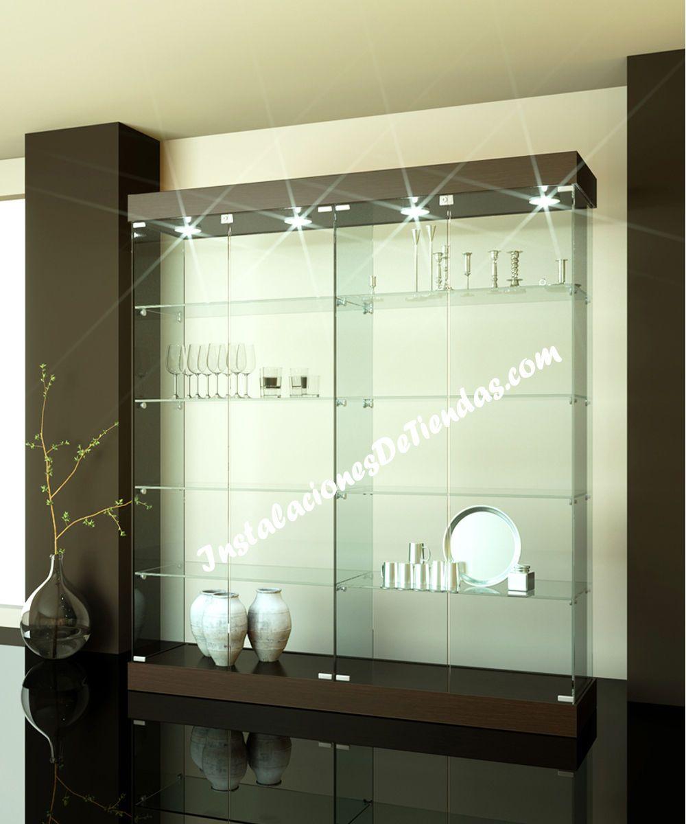 Vitrinas de cristal vlc it 161 c 3 b oficinas - Vitrinas de salon ...