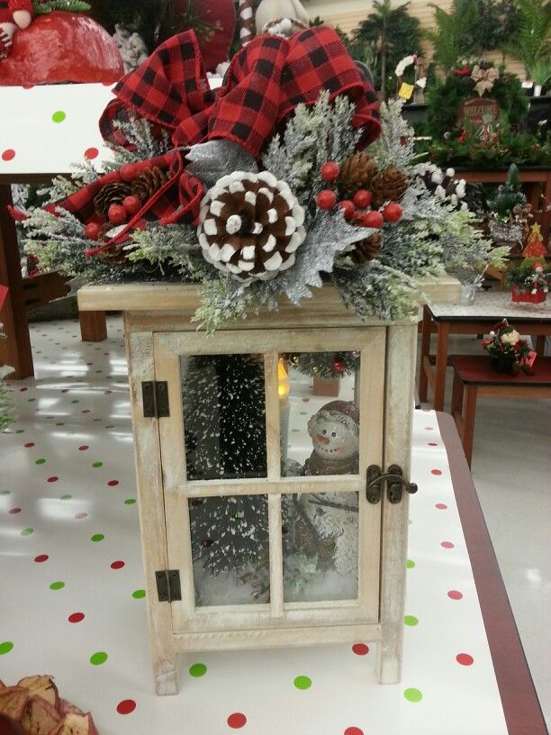 Saw this at Pat Catan\u0027s Craft Store Clever winter diy decor
