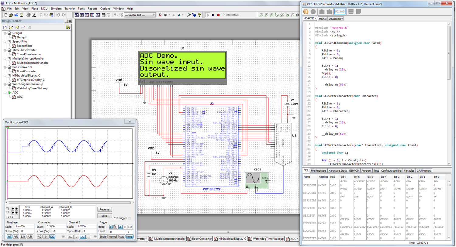 Multisim And MPLAB Co-simulation For Microcontrollers