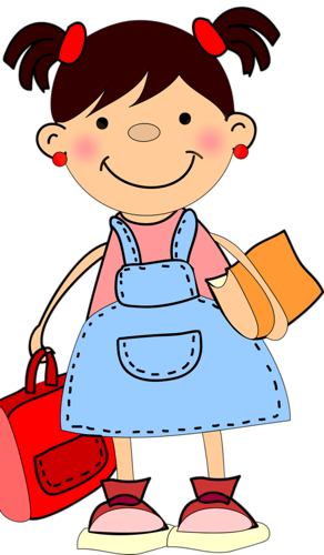 School Children 147.png | Школа | Pinterest | Girls, School girl ...