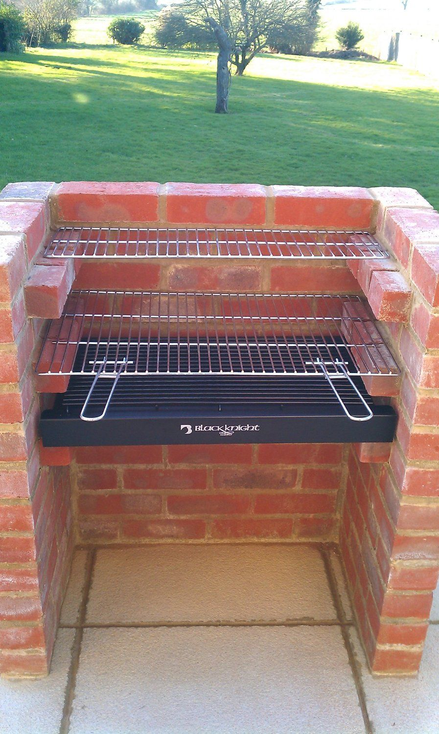 Black knight barbecue bkb stainless steel grill bbq kit warming