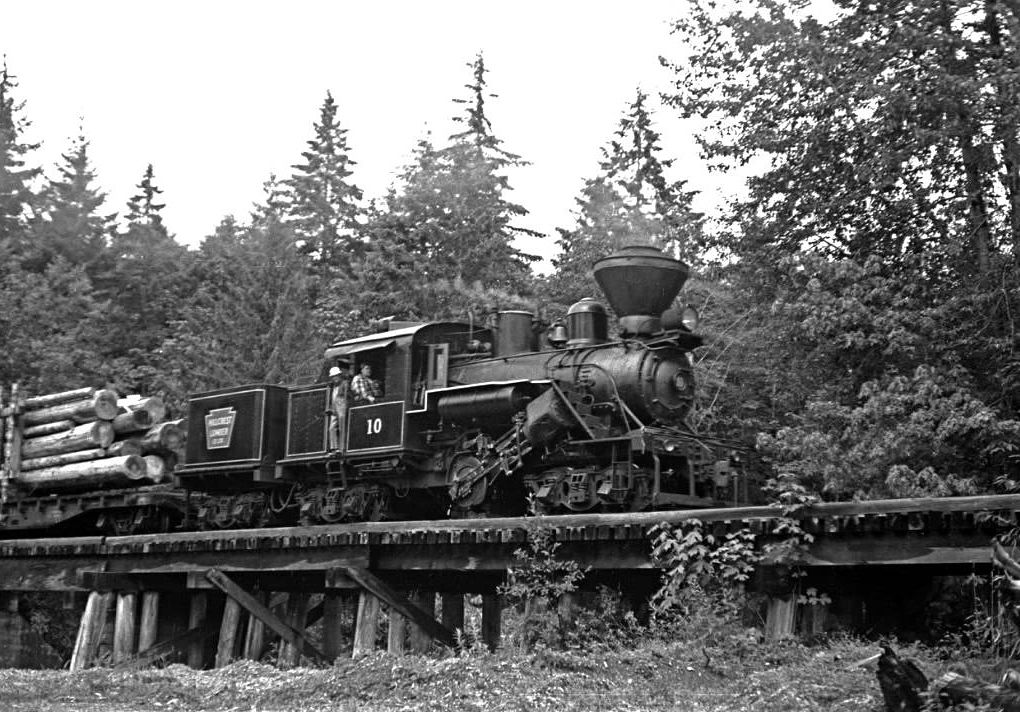 The Climax Geared Steam Locomotive