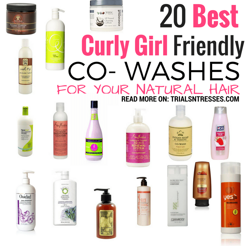 20 Curly Girl Friendly CoWashes For Natural Hair