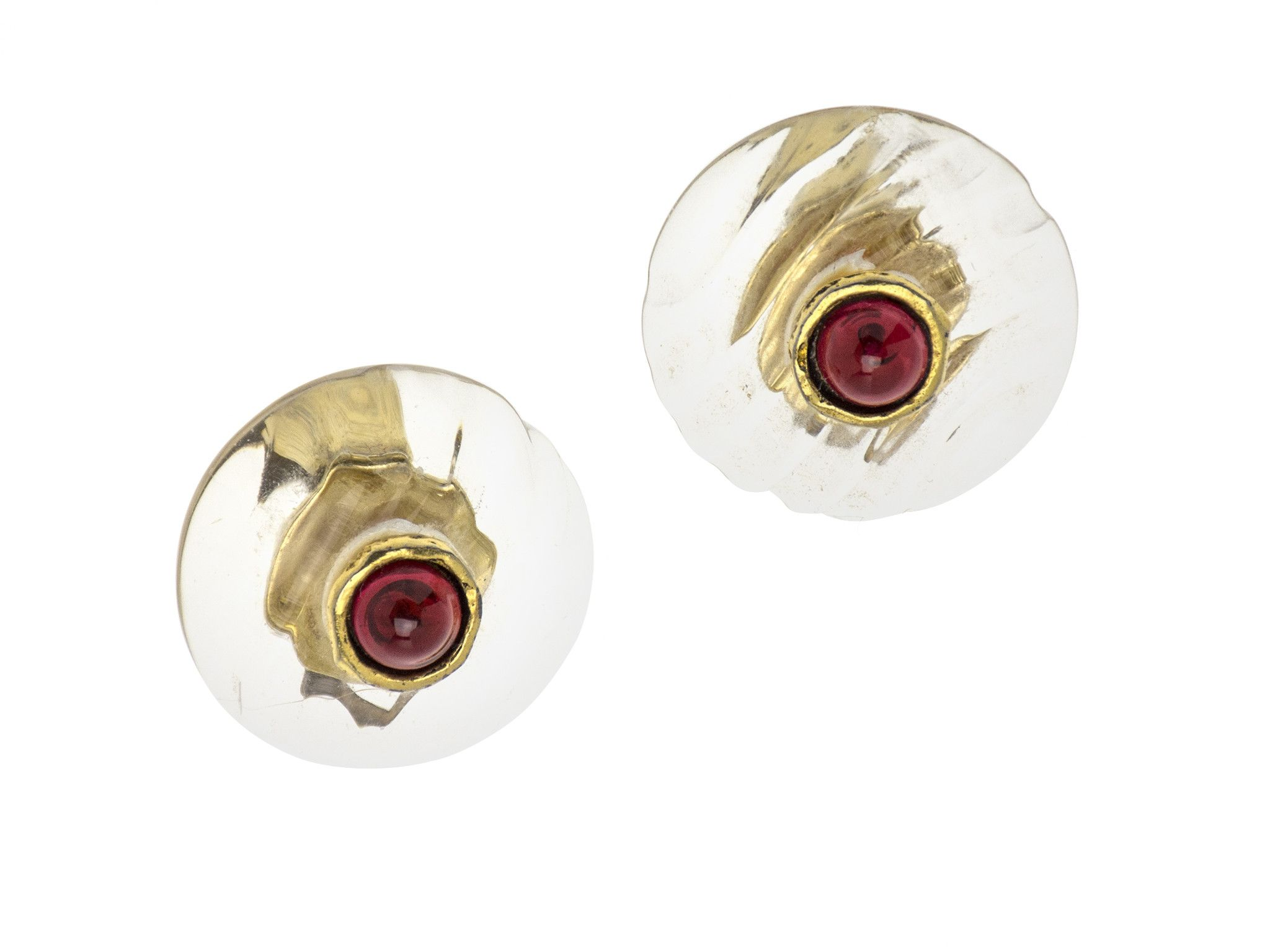 Chanel Vintage Lucite Earrings