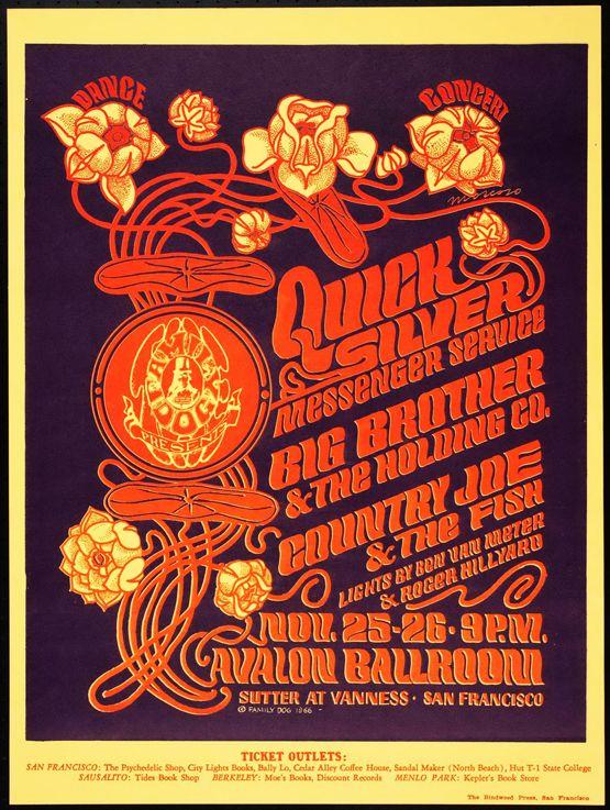 Huge Collection Of Vintage Concert Posters « DesignGet --I