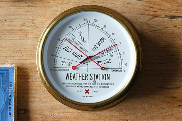 The Weather Station Meteorology Simplified Ippinka Weather Station Cool Things To Make Temperature Weather