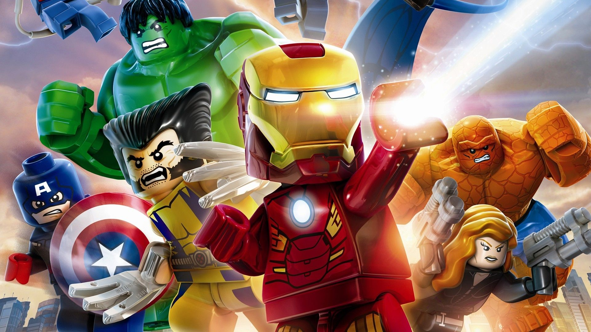 Ces cool jeux video pinterest lego lego marvel and marvel video game lego marvel super heroes wallpapers and backgrounds voltagebd Images