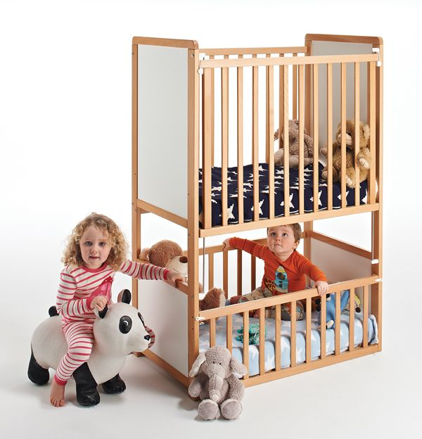 Convertible Bunk Cot Expecting Twins Or Two Babies Very Close