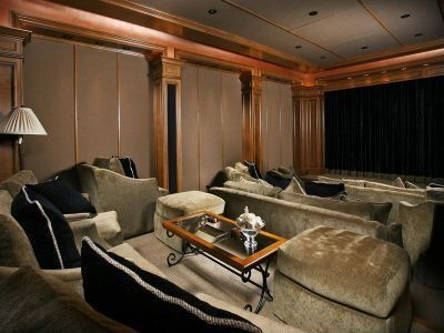 huge theater room :)