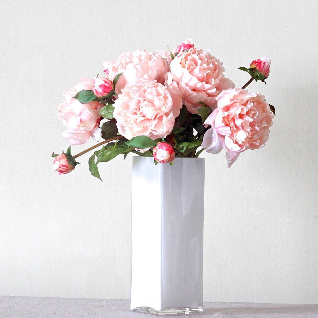 Luxury artificial fake silk flowers light pink open peony lifelike luxury artificial fake silk flowers light pink open peony lifelike realistic faux flowers buy online from amaranthine blooms hong kong uk 6 stems for mightylinksfo