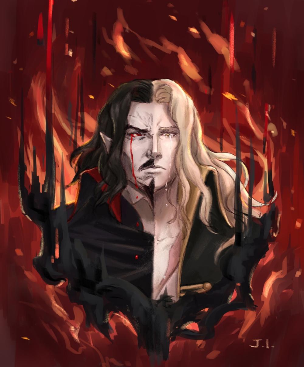 Castlevania Gallery Gothic Anime Vampire Art Anime Fanart