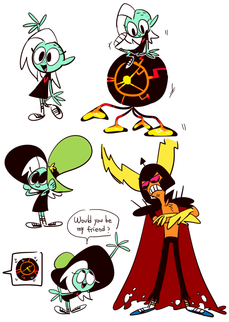 character swap little dom lord wander wander over yonder