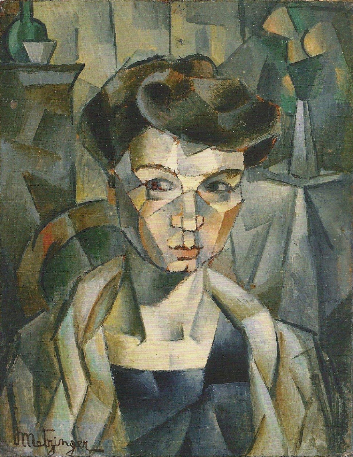 Jean Metzinger | Cubist painter | Cubist portraits, Cubism art, Cubist