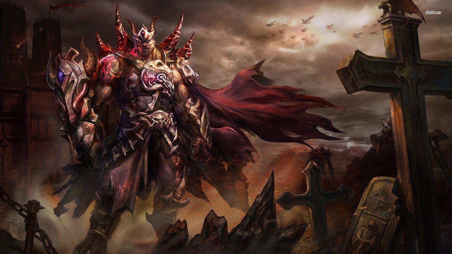 Demon Warrior Hd Wallpaper Gargoyles Art Warriors Wallpaper Demon