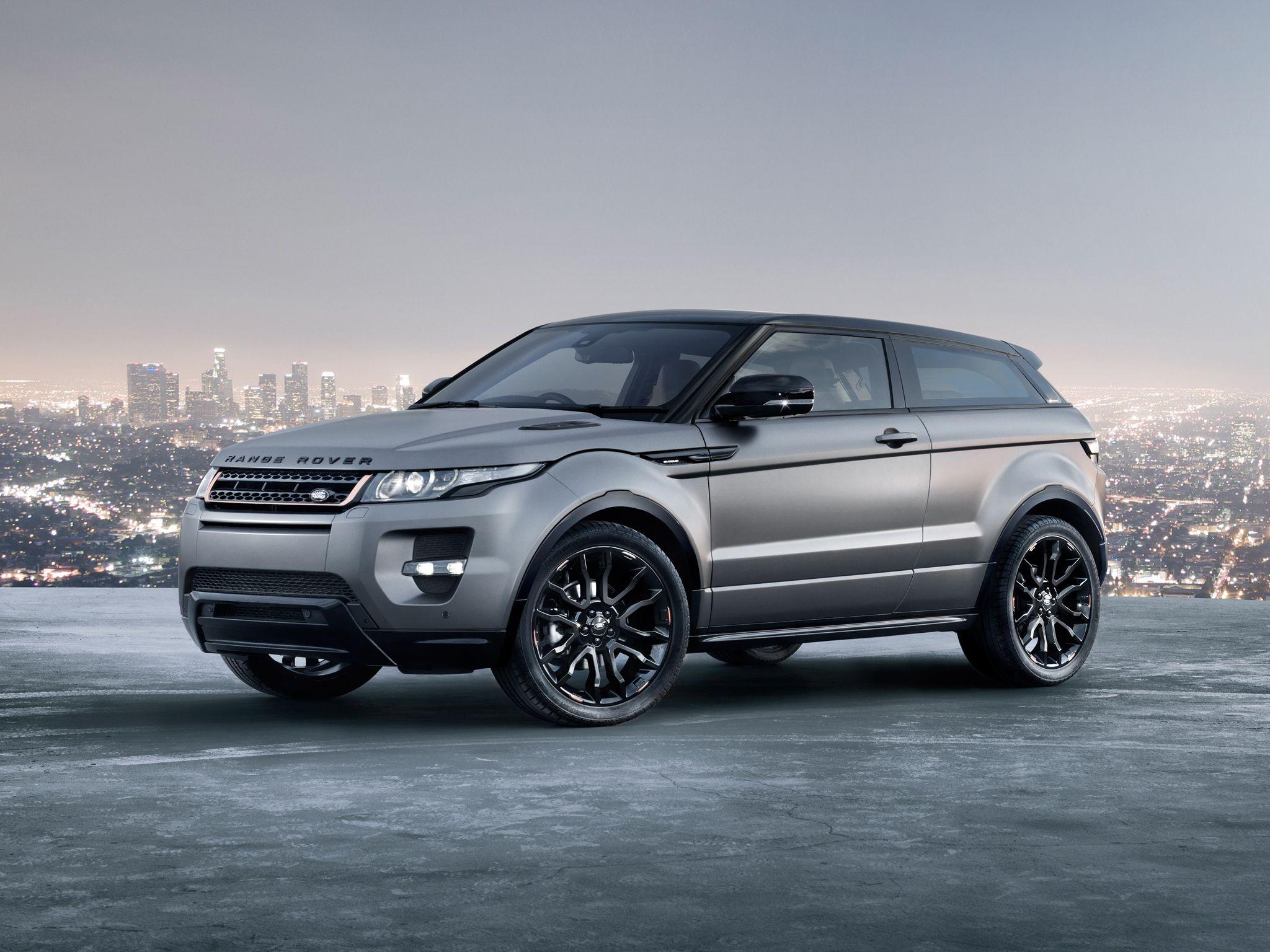 Range Rover Evoque Coupe Victoria Beckham Edition Range