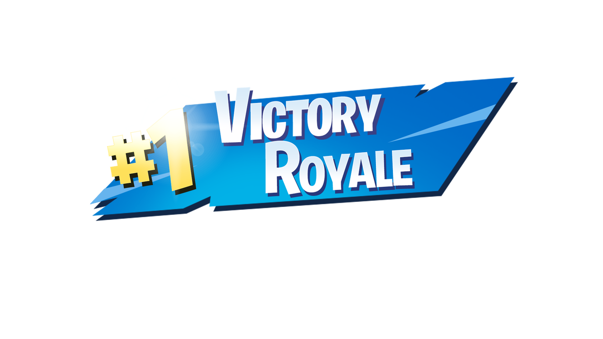 1 Victory Royale Png Logo Transparent HighResolution