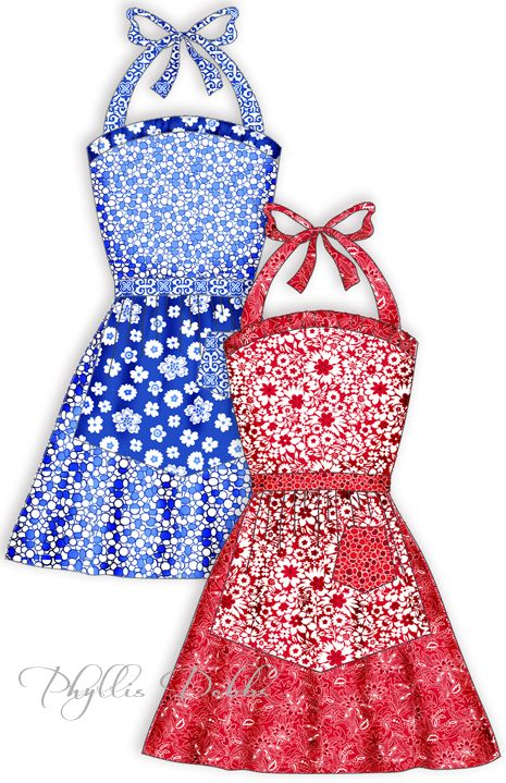 Free Patterns for Aprons and Quilts | Momma Dukes | Pinterest ...
