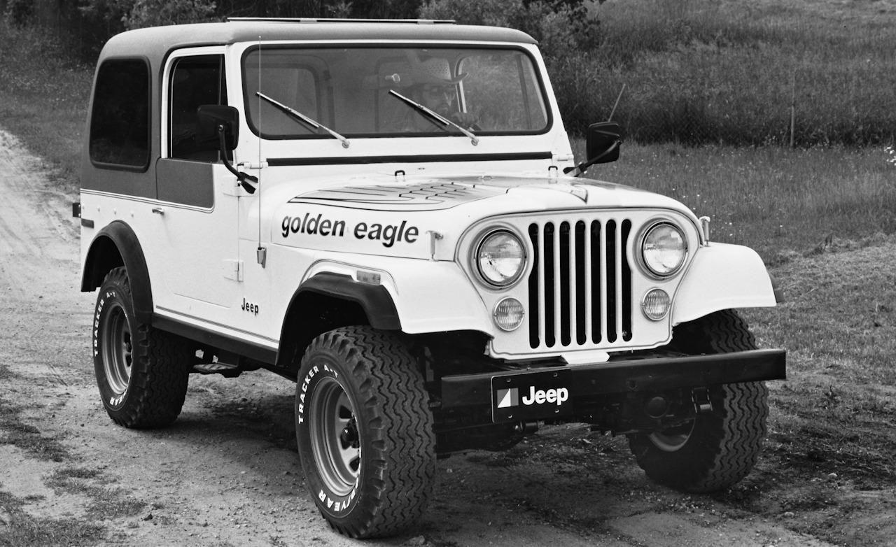 1979 jeep cj 7 golden eagle