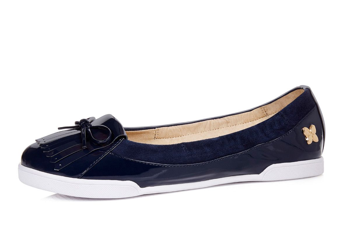 4a1835fe5ef5 Butterfly Twists Robyn Midnight Navy Patent Women s Loafer Shoes ...