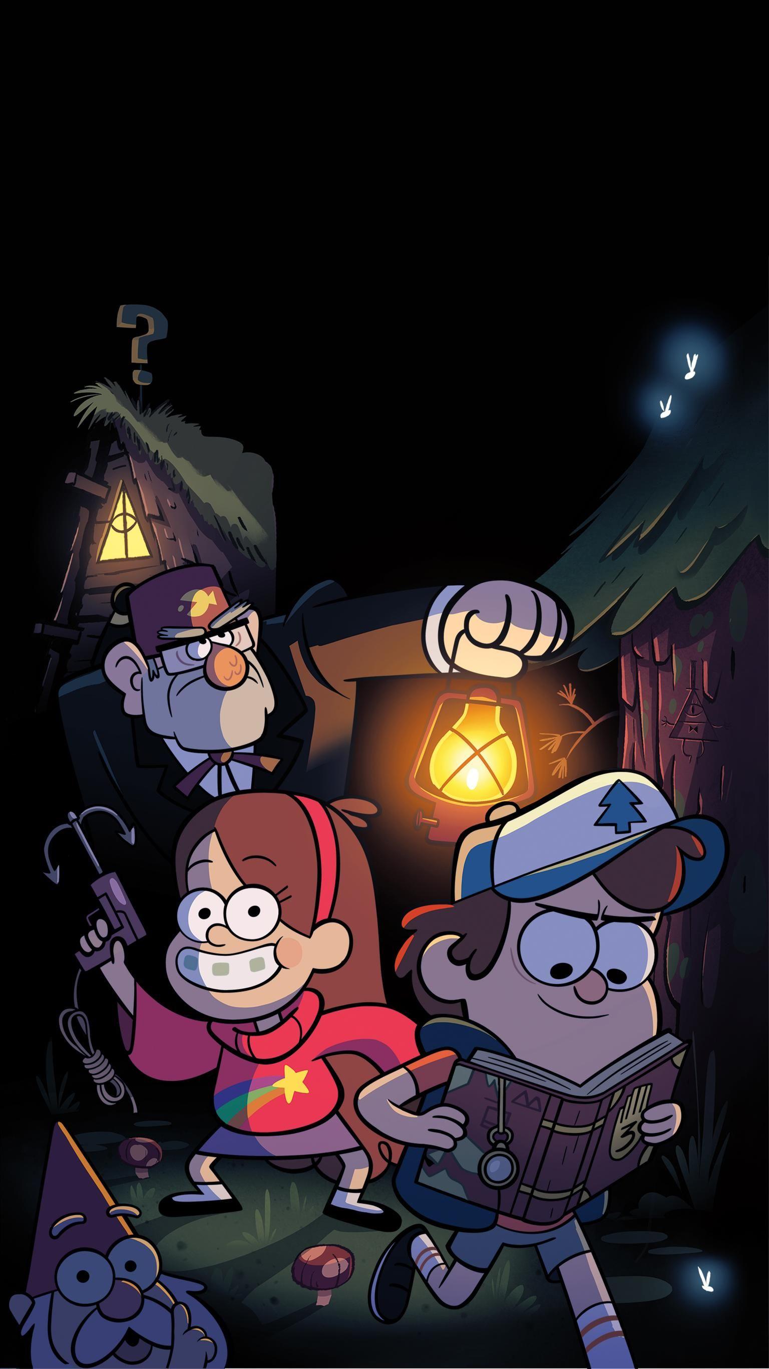 Gravity Falls Phone Wallpaper Гравити фолз, Мультфильмы