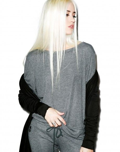 Wildfox Couture Essential Baggy Beach Jumper