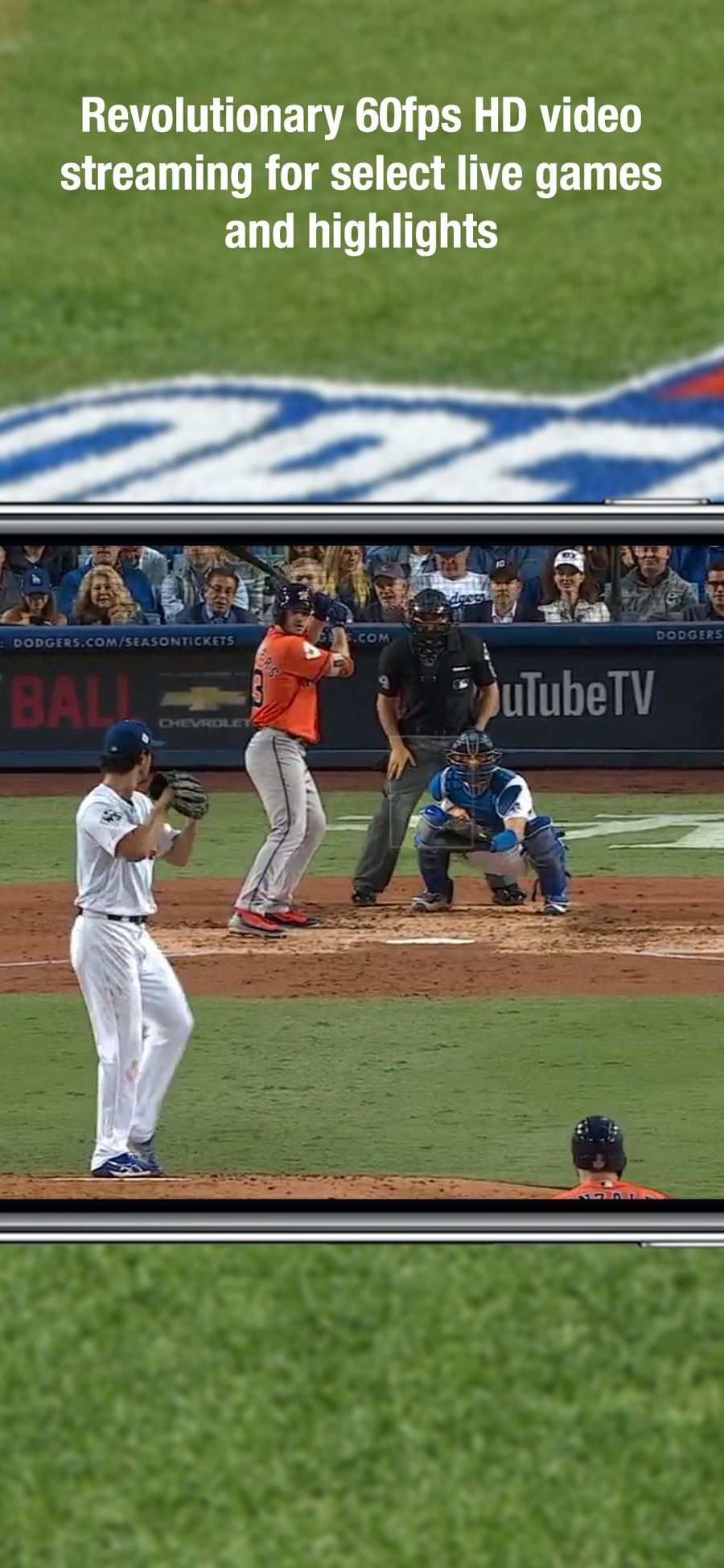 Mlb At Bat Ios Apps App Entertainment Free Apps For Iphone Iphone Apps Free Video Streaming