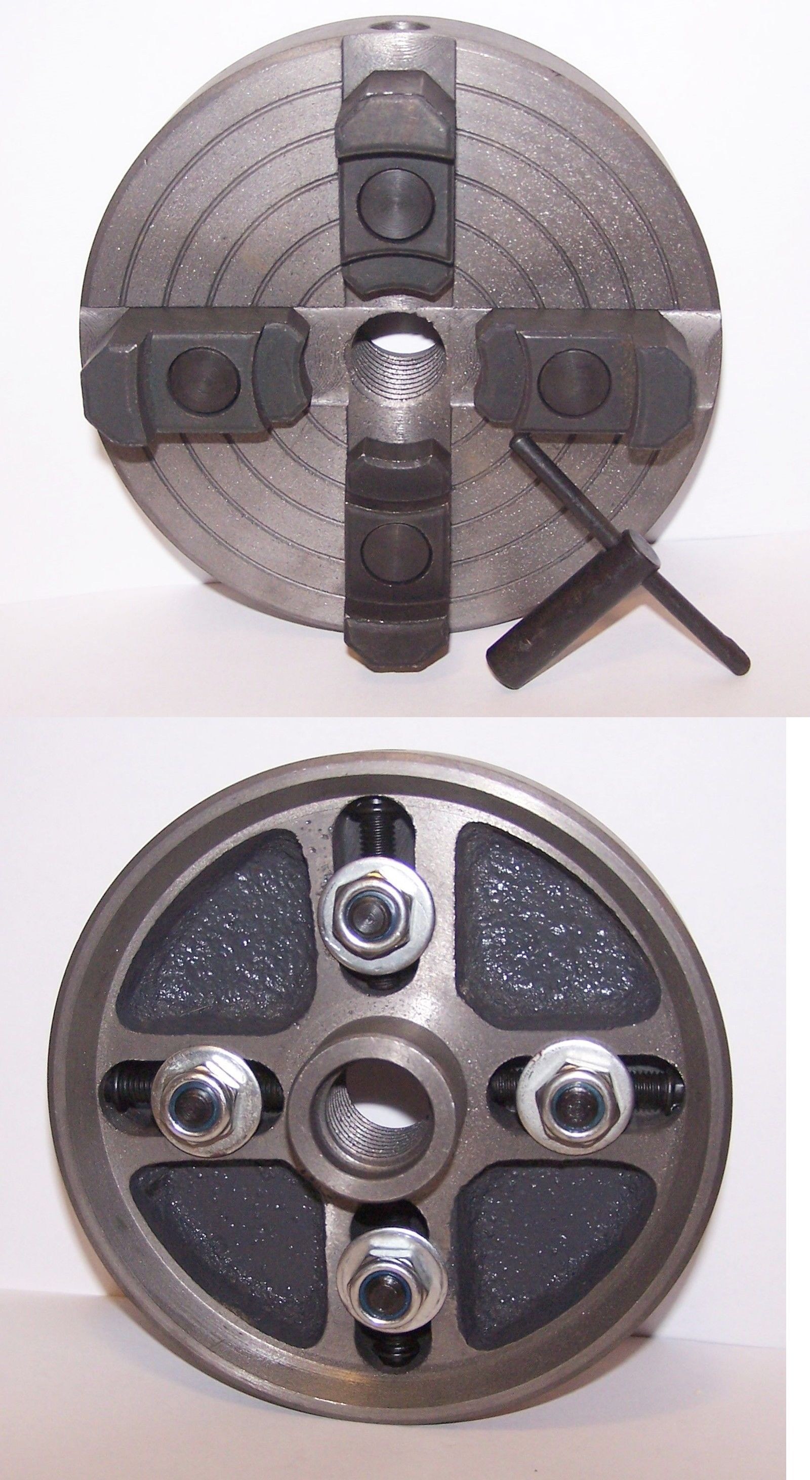 """1.25/"""" Spindle TMIProducts Hold Fast 3/"""" Vacuum Chuck Head /& Adaptor Kit Only"""