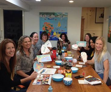Group painting @ Paint & Create