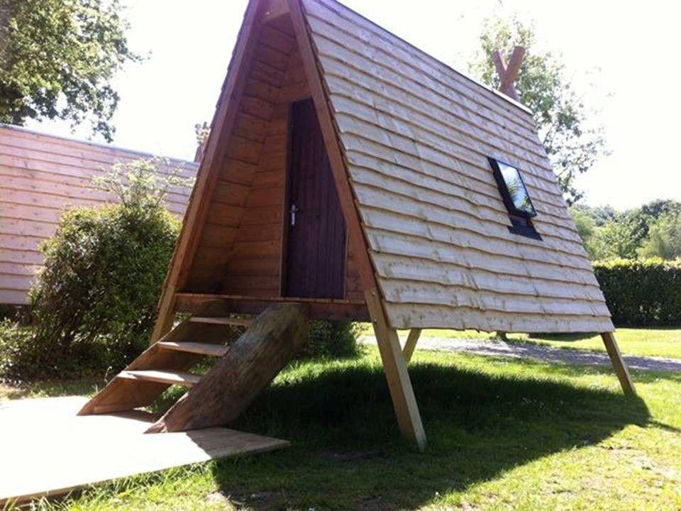 Galerie - Cabanes en bois | a-frame | Pinterest | Baumhaus