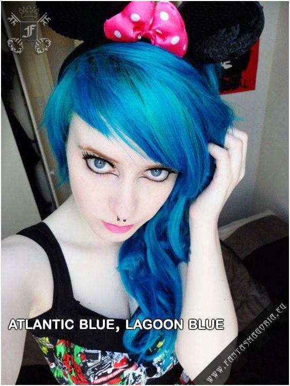 Coloring Hair Balsam Atlantic Blue Gothic Hairstyles Hair