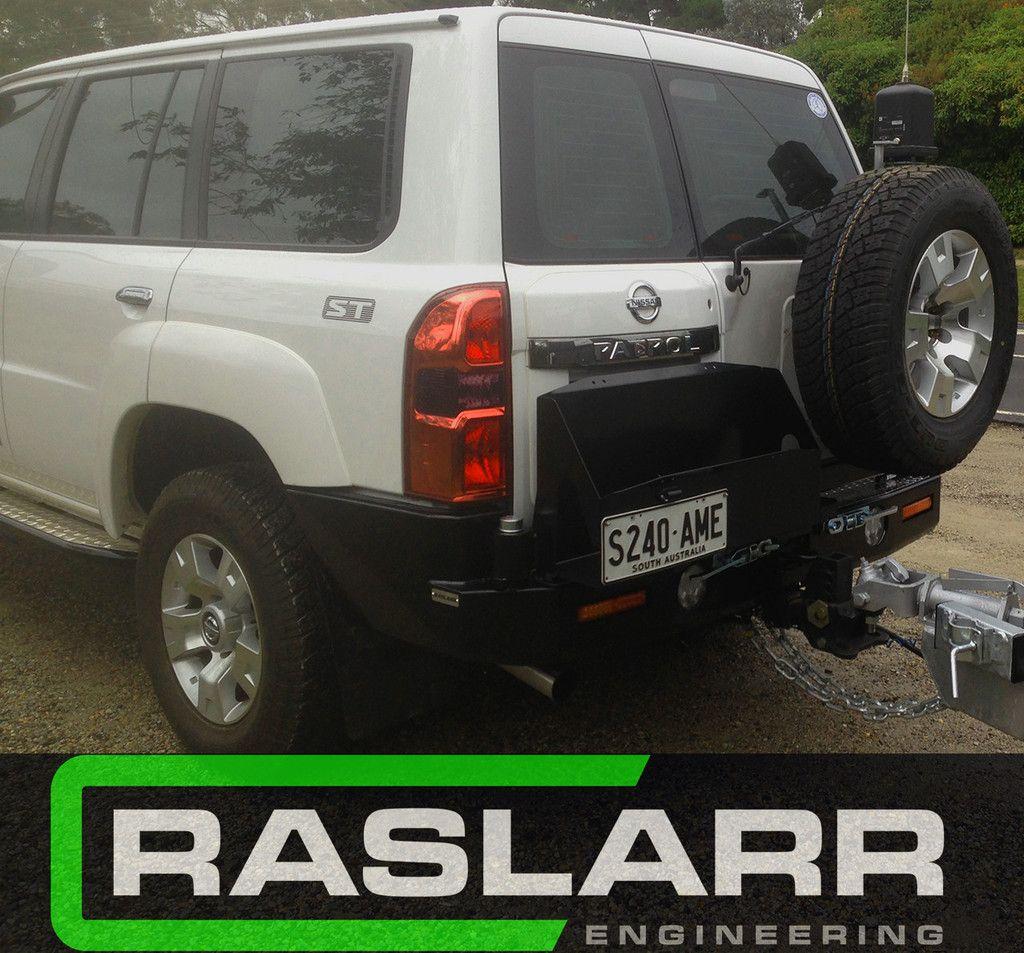 Nissan Patrol GU Y61 Raslarr Rear Bar Nissan patrol