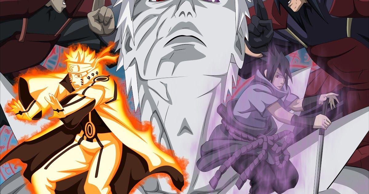 Lock Screen Naruto And Sasuke Wallpaper di 2020 (Dengan